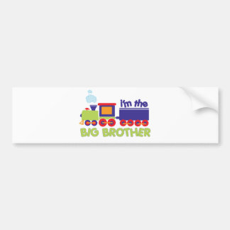I'm the Big Brother Train T-shirt Bumper Sticker