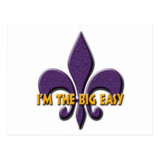 I'm the Big Easy Postcard