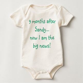 I'm the Big News! Baby Bodysuit