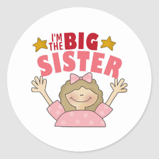 I'm The Big Sister 3 Stickers