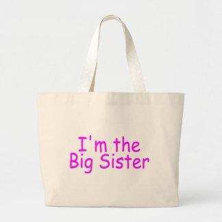 I'm The Big Sister Tote Bags