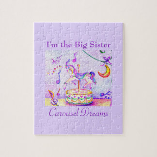 I'm the Big Sister Carousel Dreams Photo Puzzle