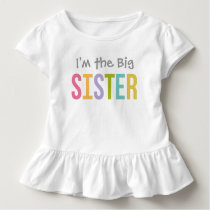 I'm the Big Sister | Custom Tee Shirt Design