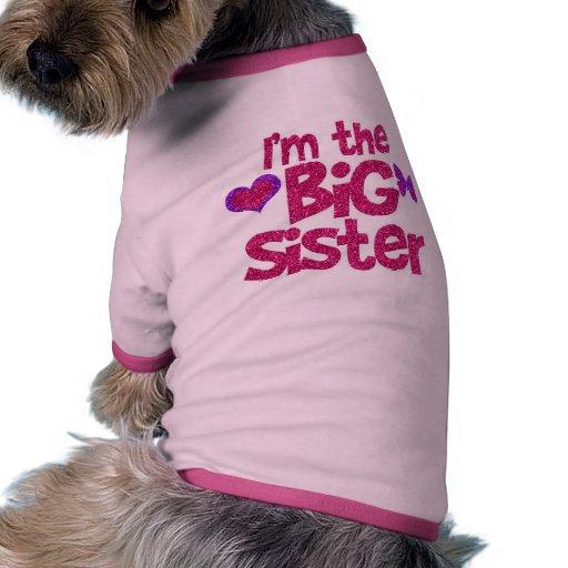 i 39 m the big sister dog shirt zazzle