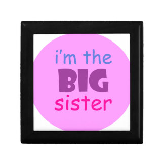 I'm the big sister gift boxes