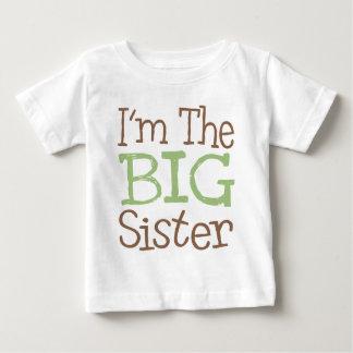 I'm The Big Sister (Green) Baby T-Shirt