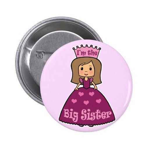 I'm the Big Sister Pinback Button