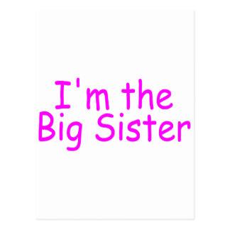 I'm The Big Sister Postcard