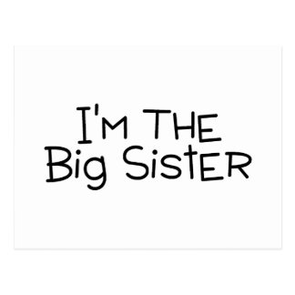 Im The Big Sister Postcard