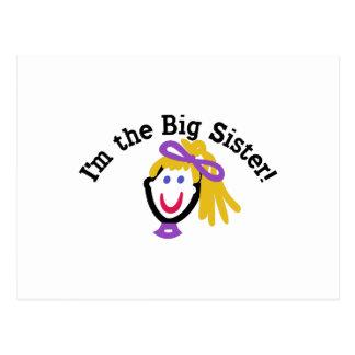 I'm The Big Sister! Postcard