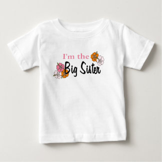 I'm the Big Sister Tee Shirts