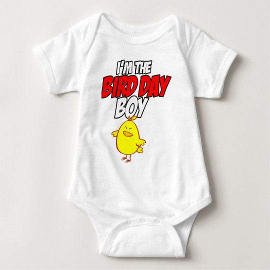 I'm the Bird Day Boy Baby Bodysuit