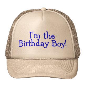 Im The Birthday Boy (Blue) Mesh Hats