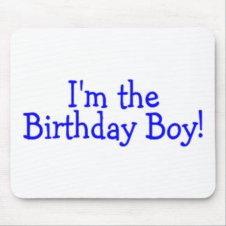 Im The Birthday Boy Blue Mouse Pad