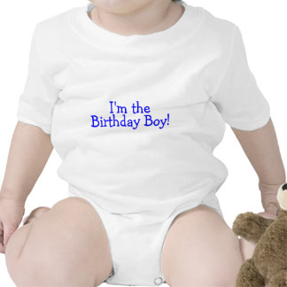 Im The Birthday Boy (Blue) Bodysuit