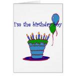 I'm The Birthday Boy Card