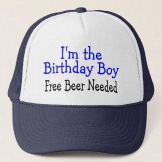 I'm The Birthday Boy Free Beer Needed Trucker Hat