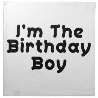 I'm The Birthday Boy Napkin