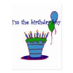 I'm The Birthday Boy Post Card