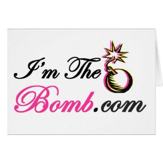 I'm The Bomb.com Card