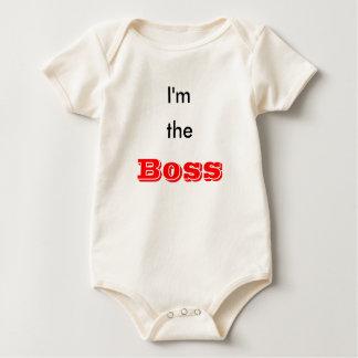 I'm the boss baby bodysuit