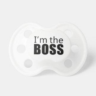 Im the Boss BooginHead Pacifier