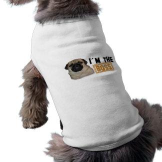 I'm the Boss - Dog T-Shirt