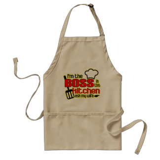 I'm the BOSS in this Kitchen Apron