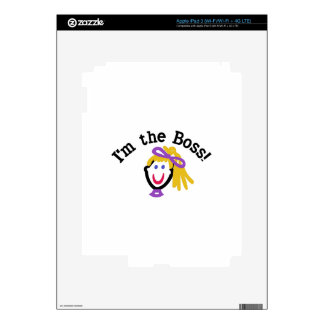 Im The Boss iPad 3 Skin