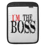 I'm The Boss iPad Sleeve