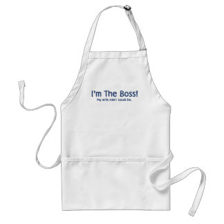 I'm the Boss My Wife Said So Adult Apron