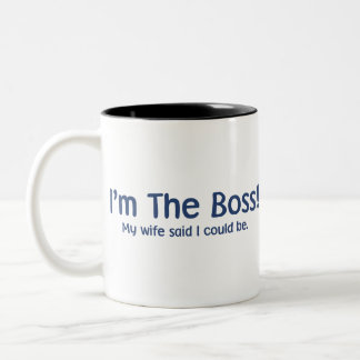 I'm the Boss My Wife Said So Coffee Mug