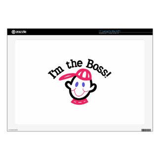 Im The Boss Skin For Laptop