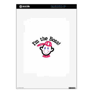 Im The Boss Skin For The iPad 2