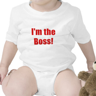 Im the Boss Tshirts
