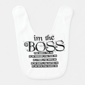Im the Boss Bib