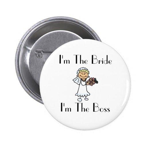 I'm The Bride 2 Inch Round Button