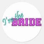 I'm The Bride Sticker