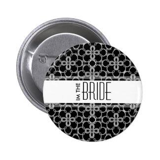 I'm The Bride Wedding Button