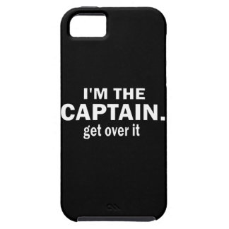 I'm the Captain. Get over it. - Funny Boating iPhone SE/5/5s Case