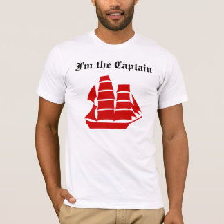 I'm the Captain Light Shirt (more styles)