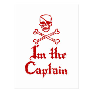Im the Captain Postcard
