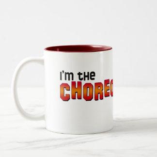 I'm the Choreographer, You Shut Up! Two-Tone Coffee Mug