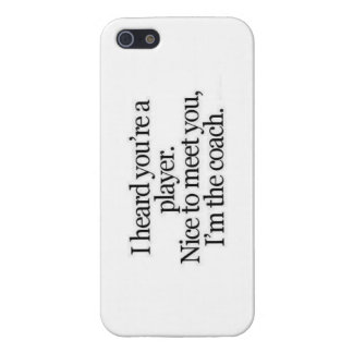 Im the coach Iphone phone case iPhone 5/5S Cover