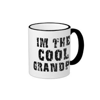 I'm The Cool Grandpa Ringer Mug