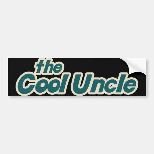 I'm the Cool Uncle Car Bumper Sticker
