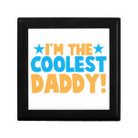 I'm the coolest DADDY Keepsake Boxes