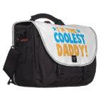 I'm the coolest DADDY Laptop Messenger Bag