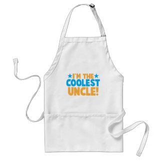 I'm the Coolest Uncle! Adult Apron