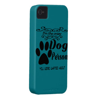 I'm the crazy dog person you were warned about Case-Mate iPhone 4 case